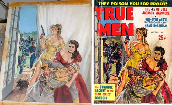 earl-norem-true-men-october-1960-split